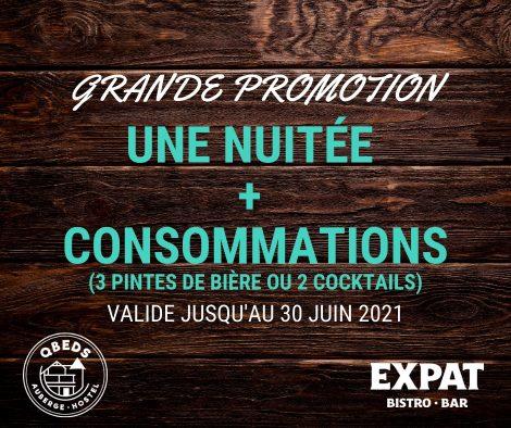 QBEDS EXPAT - Promotion